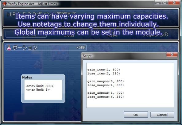 """Nuevos """"Core Scripts"""" Sólo para RPGM VX Ace Al-041"""