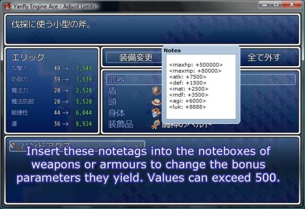 """Nuevos """"Core Scripts"""" Sólo para RPGM VX Ace Al-07"""