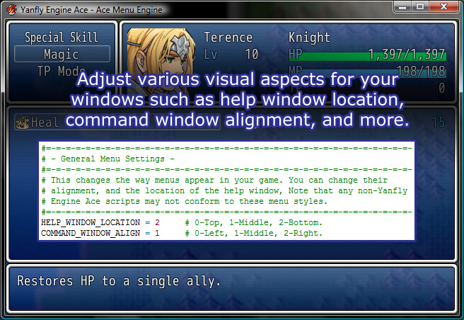 Rpg Maker Vx Ace Custom Menu Scripts: Ace Menu Engine :: Rpgmaker.net