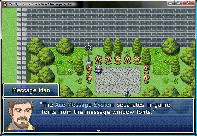 Rpg Maker Vx Ace Using Uncommon Fonts: Ace Message System :: Rpgmaker.net
