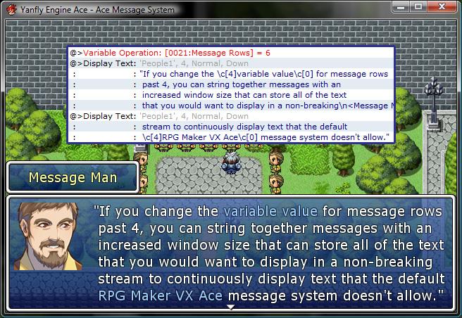 Yanfly Engine Ace - Ace Message System :: rpgmaker.net