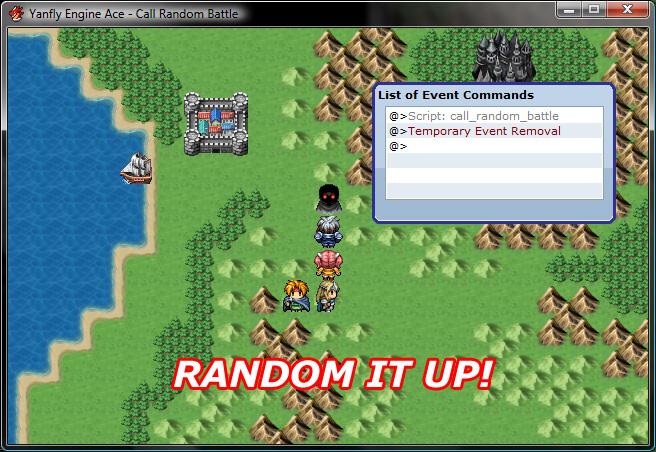 Battle Command List Rpgmaker Net: Call Random Battle :: Rpgmaker.net