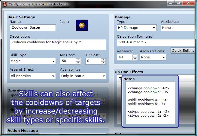 Yanfly Engine Ace - Skill Restrictions :: rpgmaker net