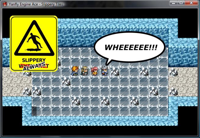 Yanfly Engine Ace - Slippery Tiles :: rpgmaker net