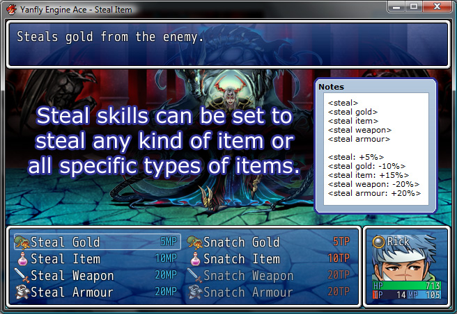 rpg maker vx ace how to change a weapon type