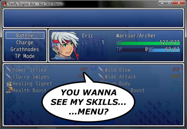 Battle Command List Rpgmaker Net: Ace Skill Menu :: Rpgmaker.net